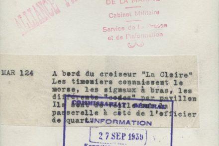 """LE CROISEUR """"LA GLOIRE"""""""